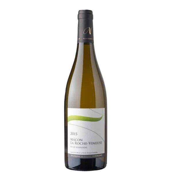 Domaine Normand Macon La Roche Vineuse Blanc.